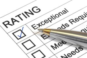 Rating criteria example image